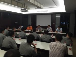 温州国泰驻苍南农商银行召开2016年上半年安保工作会议