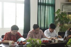 浙江省交通实业投资有限公司一行莅临公司考察