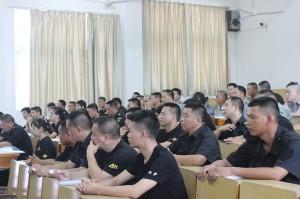 温州市2017年高级保安员培训开班(第10期)