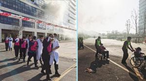 加强消防应急演练  增强消防安全意识